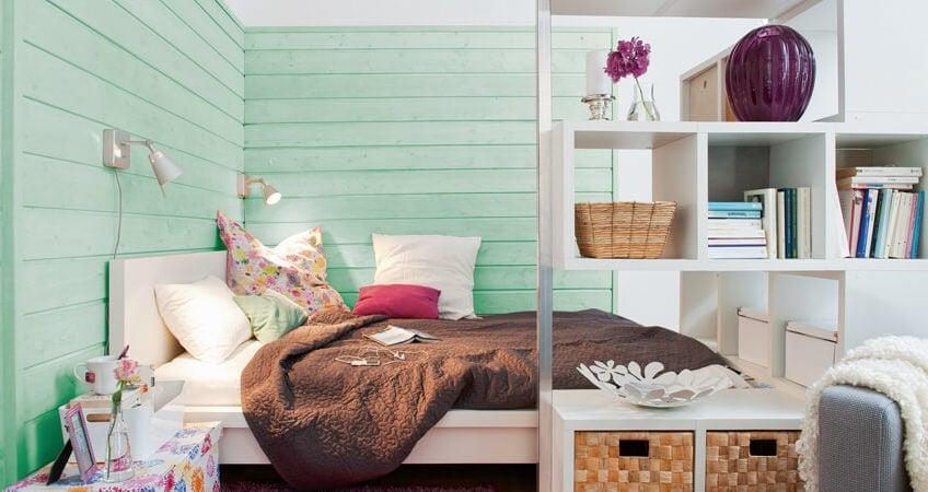 Ob helle Pastelltöne oder intensive Farben: Die Vorlieben bei der Einrichtung sind unterschiedlich. Die Osmo Holzanstriche bieten eine große Farbvielfalt und zudem die Möglichkeit, ganz unkompliziert die persönliche Wunschfarbe zu mischen. (Foto: Osmo)